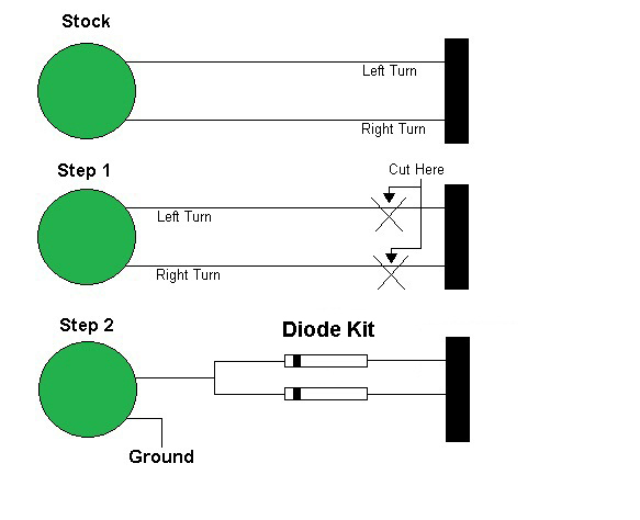 when is a diode needed? mdk diagram