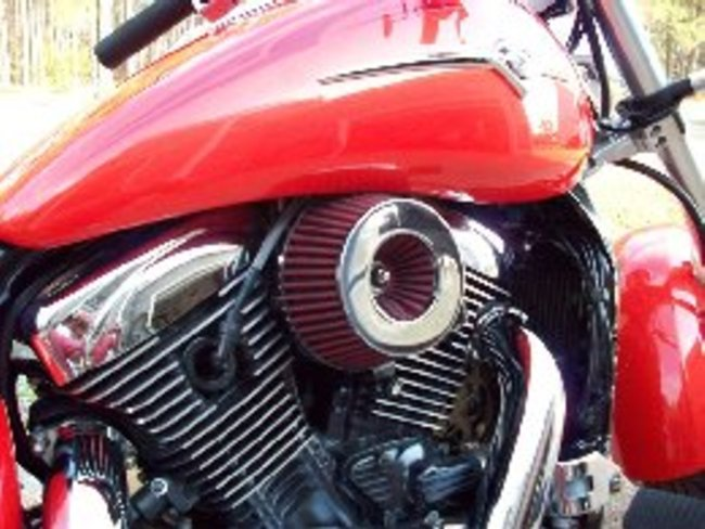 Commercial Air Intake : Home made open air intake for yep gadget s fixit page